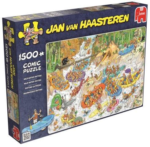 Jan van Haasteren - Wild Water Rafting Puzzel (1500 stukjes)-1