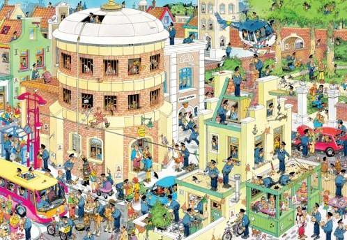 Jan van Haasteren - De Ontsnapping Puzzel (2000 stukjes)-2