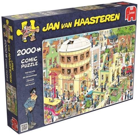 Jan van Haasteren - De Ontsnapping Puzzel (2000 stukjes)