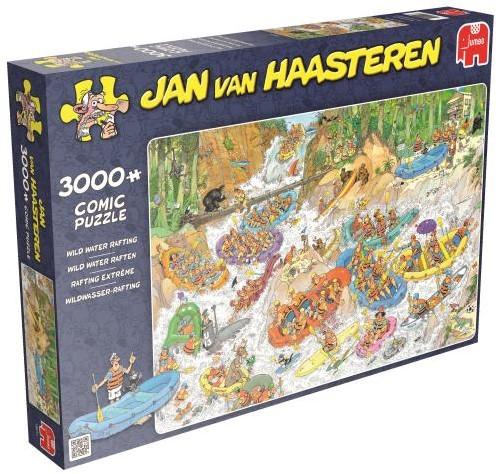 Jan van Haasteren - Wild Water Rafting Puzzel (3000 stukjes)