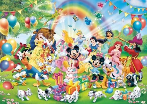 Disney Mickey is Jarig Puzzel (1000 stukjes)-2