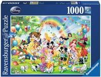 Disney Mickey is Jarig Puzzel (1000 stukjes)