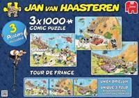 Jan van Haasteren - Tour de France Puzzel 3 in 1-2