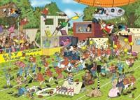 Jan van Haasteren - Chaos op het Veld Puzzel (150 stukjes)-2