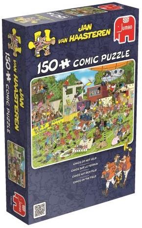 Jan van Haasteren - Chaos op het Veld Puzzel (150 stukjes)-1