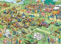 Jan van Haasteren - Grasmaaierrace Puzzel (1000 stukjes)-2