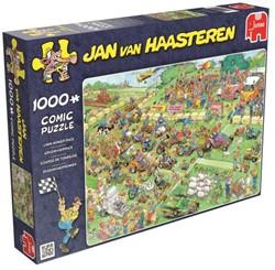 Jan van Haasteren - Grasmaaierrace Puzzel (1000 stukjes)