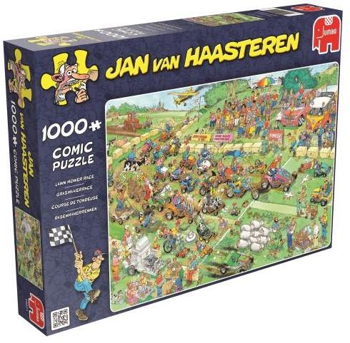 Jan van Haasteren - Grasmaaierrace Puzzel (1000 stukjes)-1