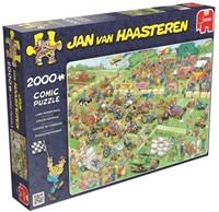 Jan van Haasteren - Grasmaaierrace Puzzel (2000 stukjes)
