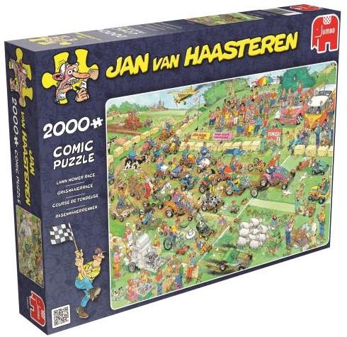 Jan van Haasteren - Grasmaaierrace Puzzel (2000 stukjes)-1