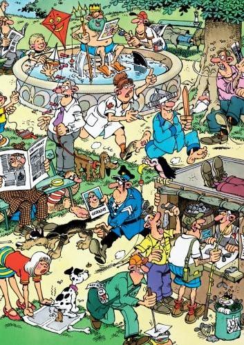 Jan van Haasteren - Plezier in het Park Puzzel (150 stukjes)-2