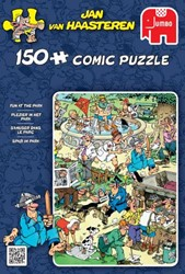Jan van Haasteren - Plezier in het Park Puzzel (150 stukjes)