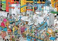 Jan van Haasteren - Snoepfabriek Puzzel (500 stukjes)-2