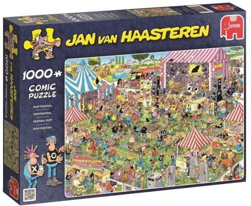 Jan van Haasteren - Popfestival Puzzel (1000 stukjes)-1