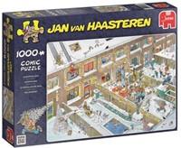Jan van Haasteren - Kerstavond Puzzel (1000 stukjes)-1