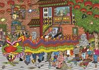Jan van Haasteren - Chinees Nieuwjaar Puzzel (500 stukjes)