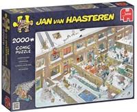 Jan van Haasteren - Kerstavond Puzzel (2000 stukjes)-1