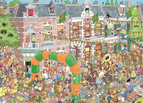 Jan van Haasteren - Nijmeegse Vierdaagse Puzzel (1000 stukjes)-2