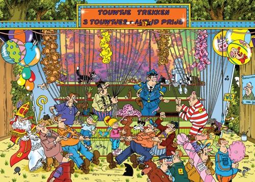 Jan van Haasteren - Kermis, Touwtje Trekken Puzzel (150 stukjes)-2