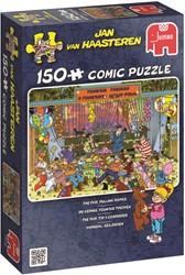 Jan van Haasteren - Kermis, Touwtje Trekken Puzzel (150 stukjes)