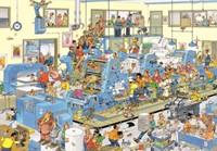 Jan van Haasteren - De Drukkerij Puzzel (3000 stukjes)-2