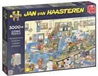 Jan van Haasteren - De Drukkerij Puzzel (3000 stukjes)-1