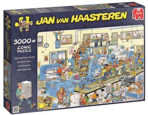 Jan van Haasteren - De Drukkerij Puzzel (3000 stukjes)