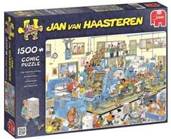 Jan van Haasteren - De Drukkerij Puzzel (1500 stukjes)