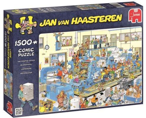 Jan van Haasteren - De Drukkerij Puzzel (1500 stukjes)-1