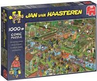 Jan van Haasteren - De Volkstuintjes Puzzel (1000 stukjes)-1