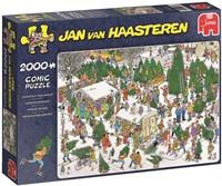 Jan van Haasteren - The Christmas Tree Market Puzzel (2000 stukjes)-1