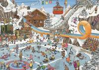 Jan van Haasteren - De Winterspelen Puzzel (1000 stukjes)-2
