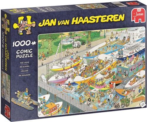 Jan van Haasteren - De Sluizen Puzzel (1000 stukjes)