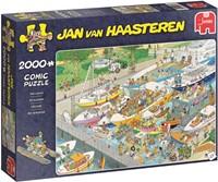 Jan van Haasteren - De Sluizen Puzzel (2000 stukjes)