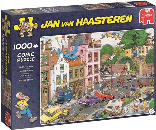 Jan van Haasteren - Vrijdag De 13de Puzzel (1000 stukjes)-1
