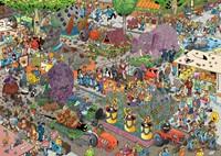 Jan van Haasteren - De Bloemencorso Puzzel (1000 stukjes)-2