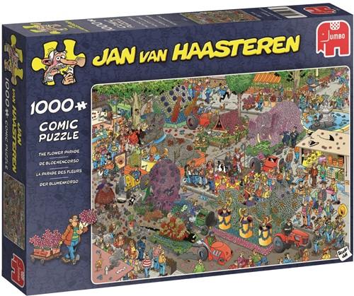 Jan van Haasteren - De Bloemencorso Puzzel (1000 stukjes)