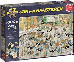Jan van Haasteren - De Veemarkt Puzzel (1000 stukjes)