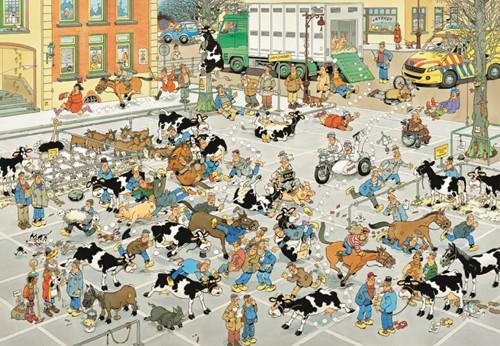 Jan van Haasteren - De Veemarkt Puzzel (2000 stukjes)-2