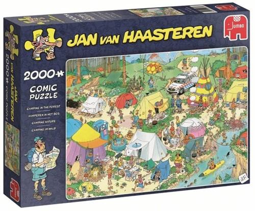 Jan van Haasteren - Kamperen in het Bos Puzzel (2000 stukjes)