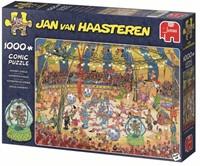 Jan van Haasteren - Acrobaten Circus Puzzel (1000 stukjes)