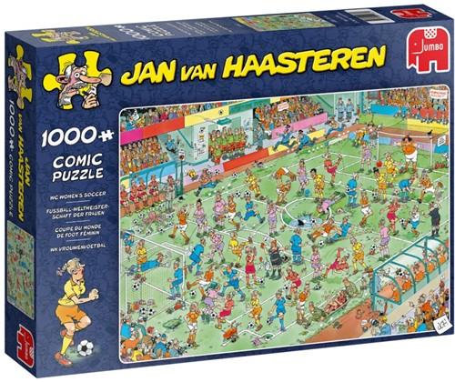Jan van Haasteren - WK Vrouwenvoetbal Puzzel (1000 stukjes)