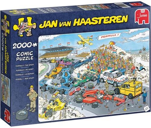 Jan van Haasteren - Formule 1, De Start Puzzel (2000 stukjes)