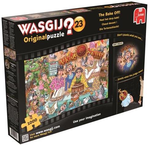 Wasgij Original Puzzel 23 - Heel Het Dorp Bakt (1000 stukjes)