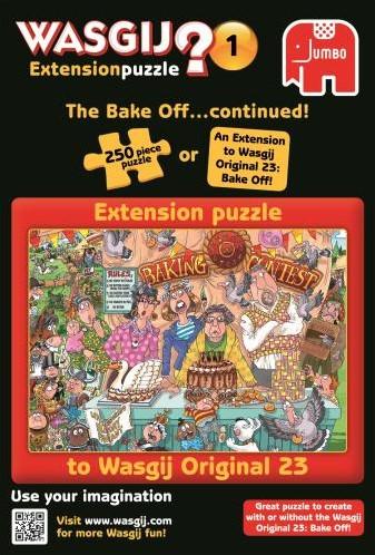 Wasgij Extension Puzzel 1 - Heel Het Dorp Bakt (250 stukjes)-2