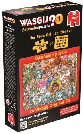 Wasgij Extension Puzzel 1 - Heel Het Dorp Bakt (250 stukjes)-1