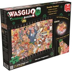 Wasgij Christmas Puzzel 11 - Paniek in de Tent (1000 stukjes)