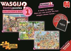 Wasgij Destiny Puzzel - Collectors Box Vol.1 (3x1000 stukjes)
