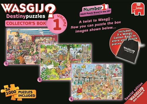 Wasgij Destiny Puzzel - Collectors Box Vol.1 (3x1000 stukjes)-1