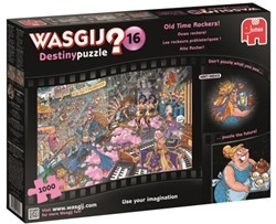 Destiny Wasgij 16 - Ouwe Rockers! Puzzel (1000 stukjes)